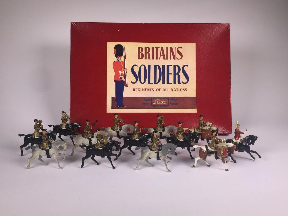 Britains Set #101 Band of the Lifeguards