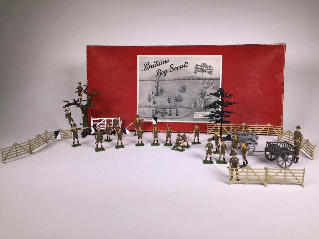 Britains Set #181 Boy Scout Display Set