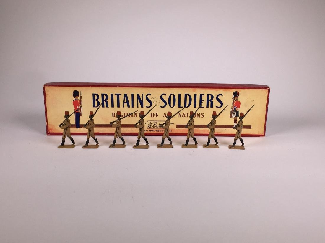 Britains Set #225 King's African Rifles