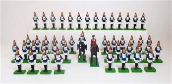 Britains Queen Elizabeth and Horse Guards