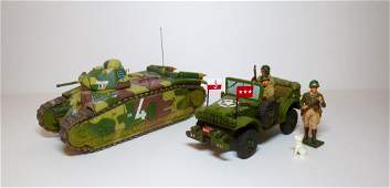 King  Country WW2 Military Vehicle Assortment
