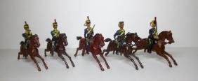 Britains Pre-war Mounted Hussars