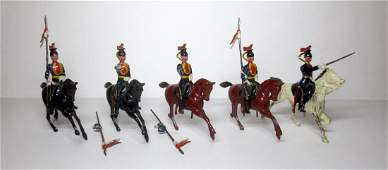 Britains 12th Lancers Troopers