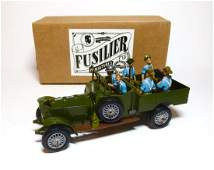 Fusilier WWI Royal Artillery Military Vehicle
