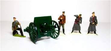 Maker Unknown Russian Cannon and Crew Set