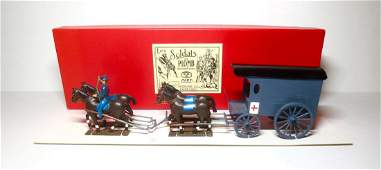 CBG Mignot Civil War Union Ambulance Set