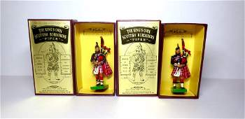 Britains The Kings Own Scottish Borderers Piper