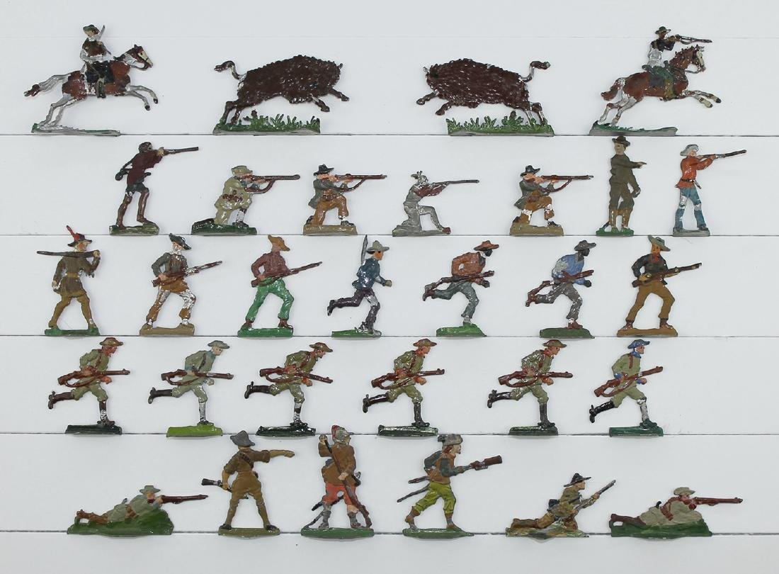 30mm Frontiersmen and Cowboys