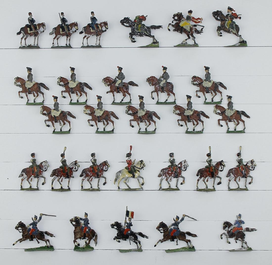 30mm German and French Cavalry Lot