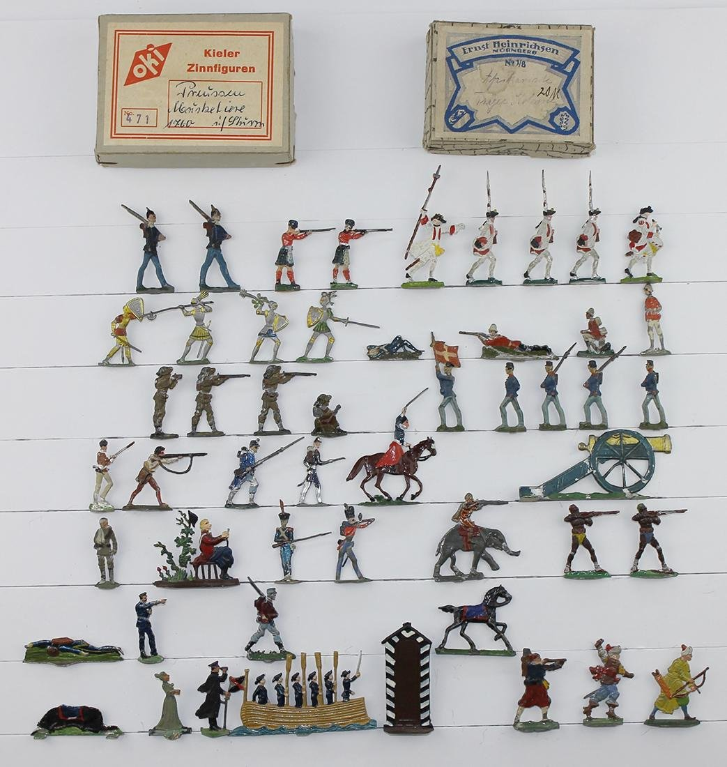 30mm Mixed Lot Knights Frontiersmen Navy