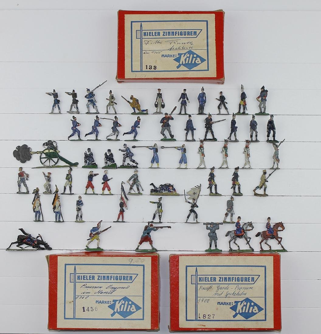 30mm Mixed Lot French Colonial Germans