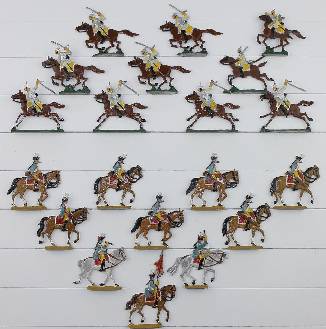 35mm Mounted German Frederick the Great Cavalry