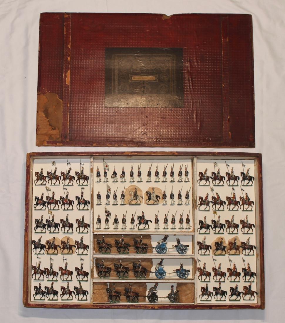 RARE Heyde Garrison Potsdam Large Display Set