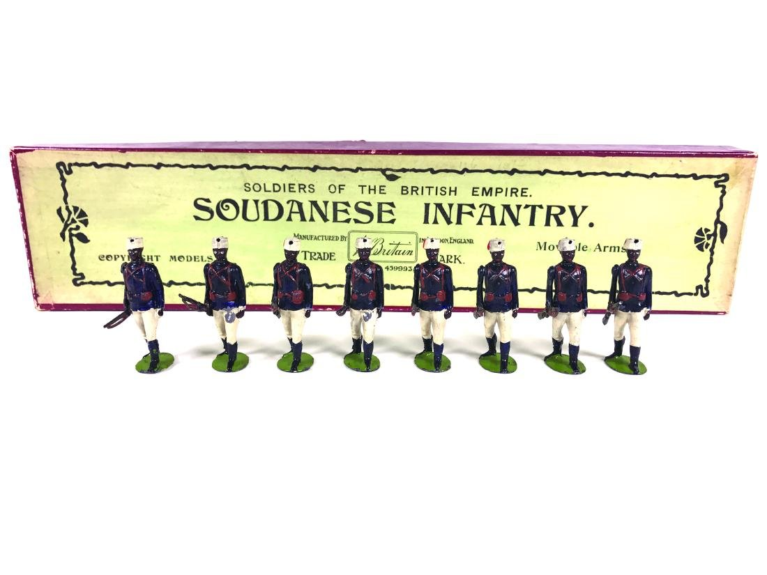 Britains Set #116 Soudanese Infantry