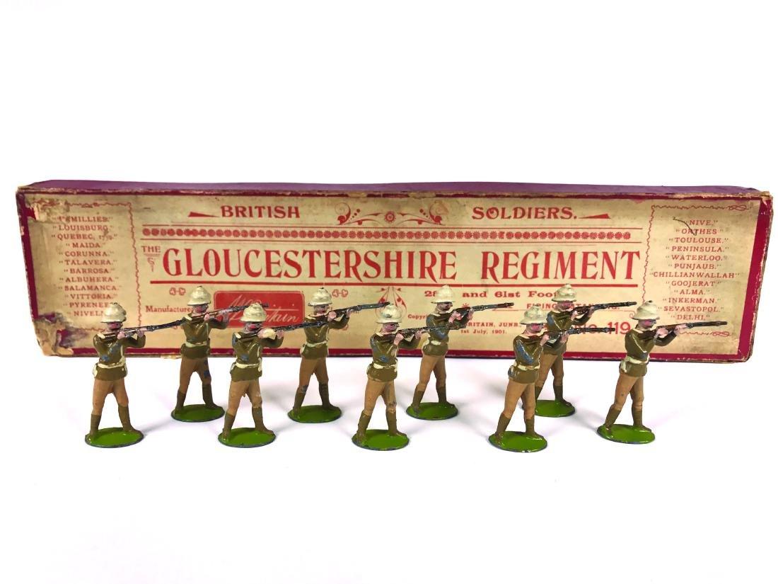 Britains Set #119 Gloucestershire Regiment