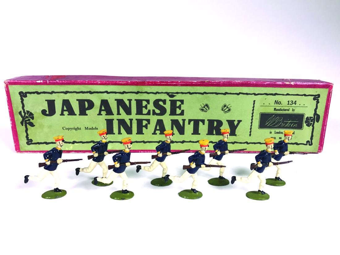Britains Set #134 Japanese Infantry