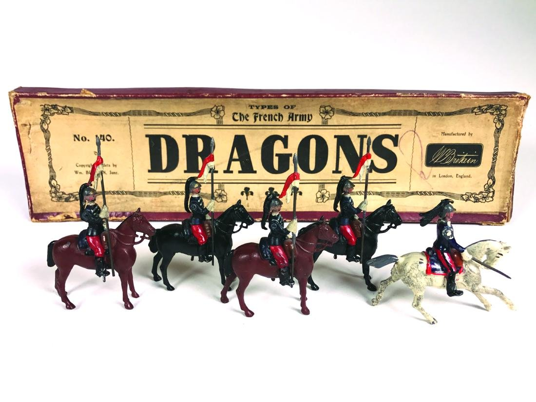 Britains Set #140 French Dragons