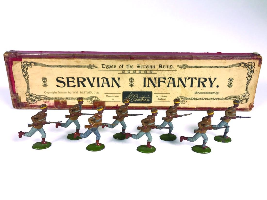 Britains Set #173 Servian Infantry