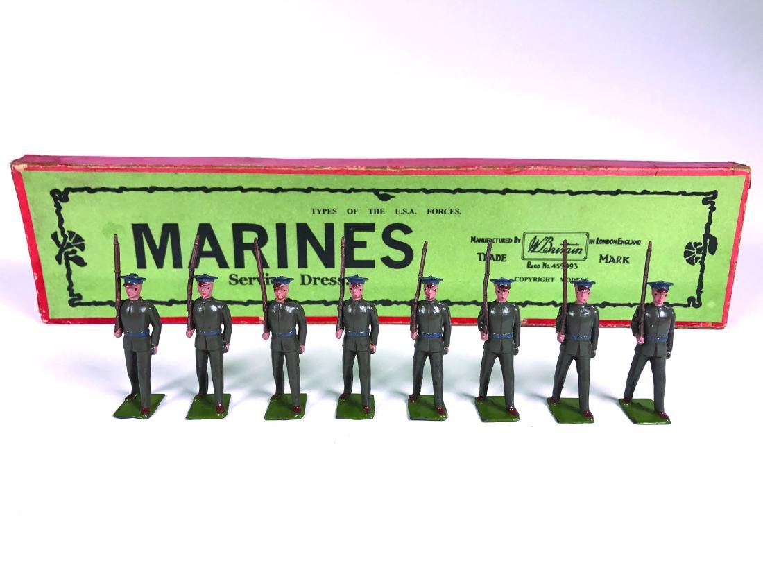 Britains Set #399 USA Marines in Service Dress