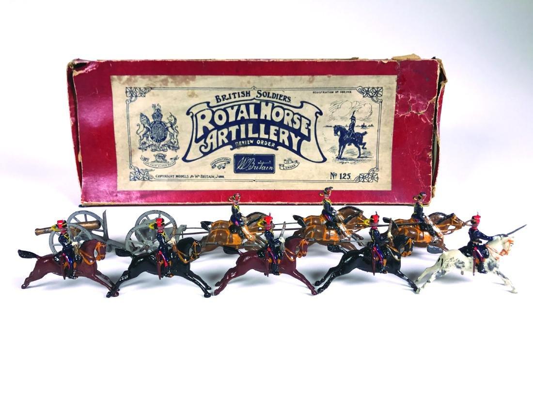 Britains Set #125 Royal Horse Artillery