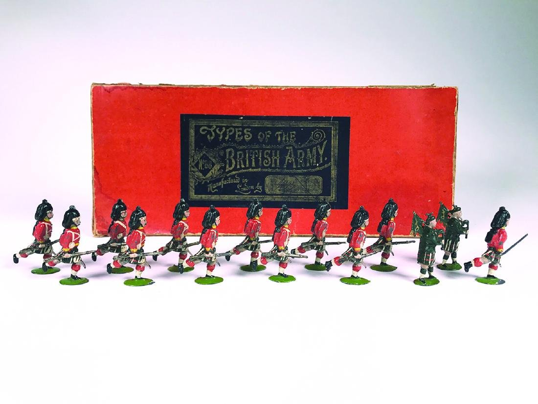 Britains Set #88 Seaforth Highlanders