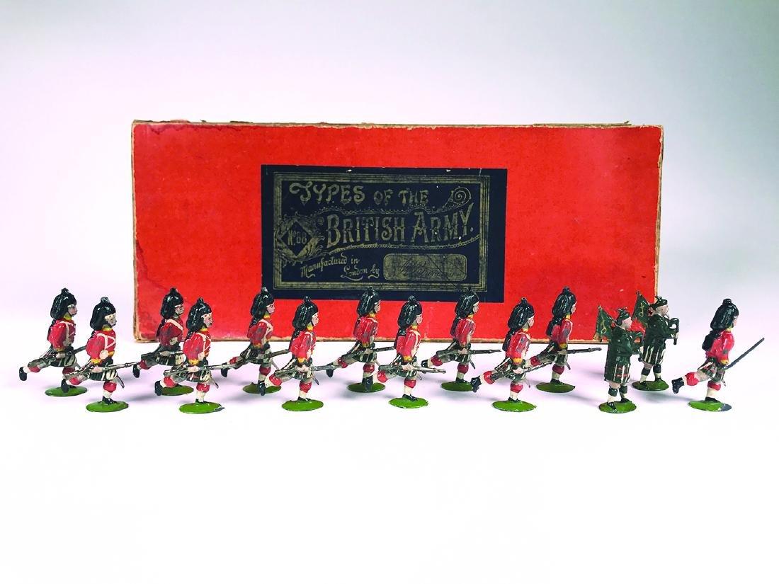 Britains Set #88 Seaforth Highlanders