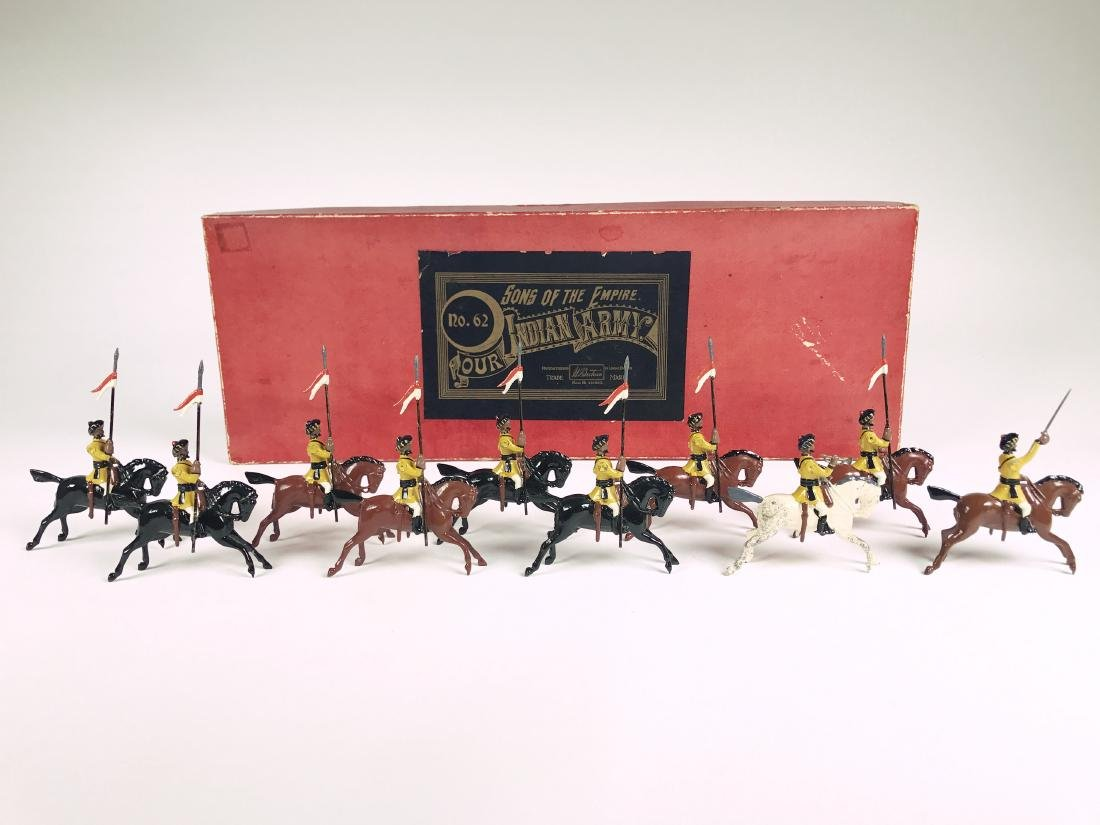 Britains Set #62 1st Bengal Cavalry Display