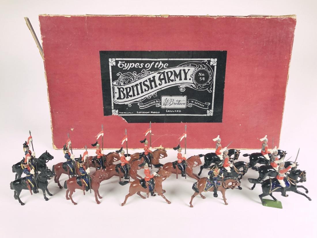 Britains Set #54 British Army Display