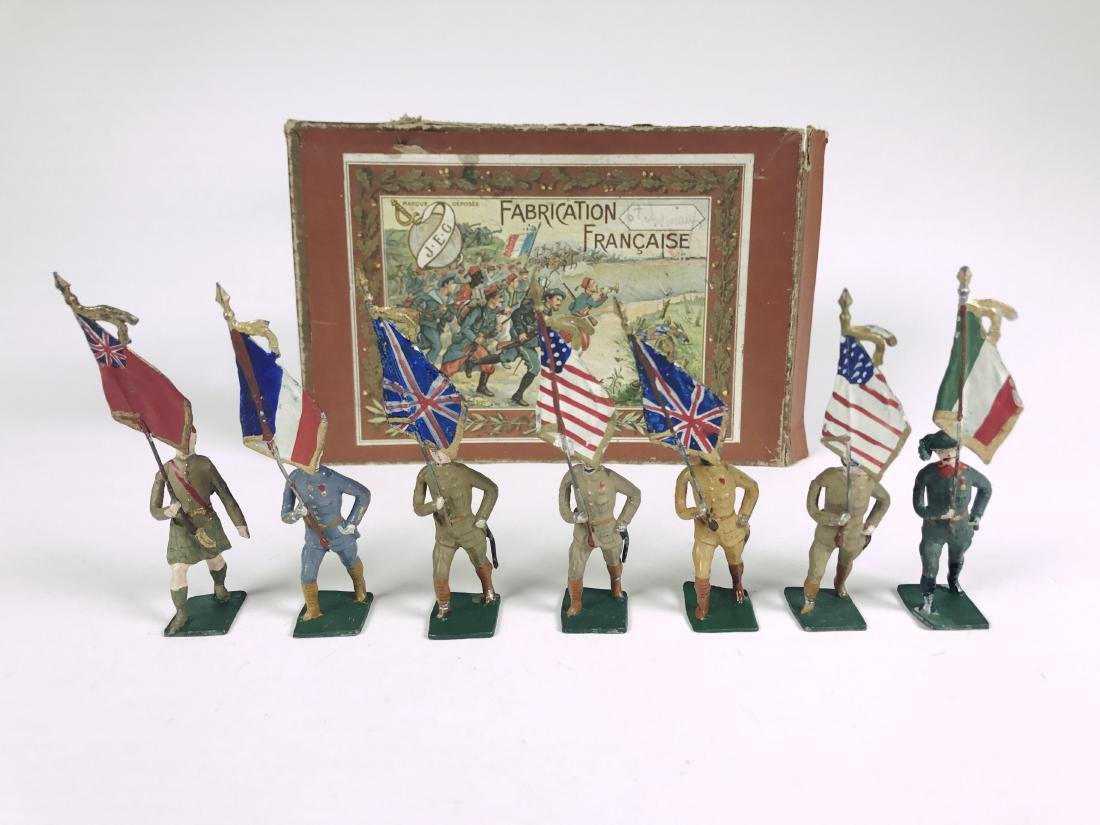 J. E. G. Standard Bearers of the War