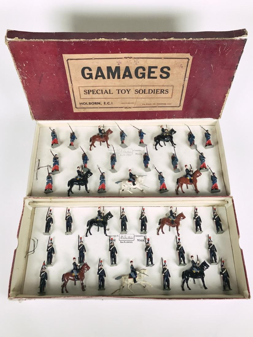 Britains Gamages Set #1826 Special Toy Soldiers