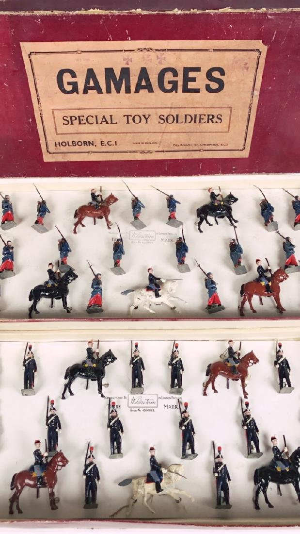 Britains Gamages Set #1826 Special Toy Soldiers - 2