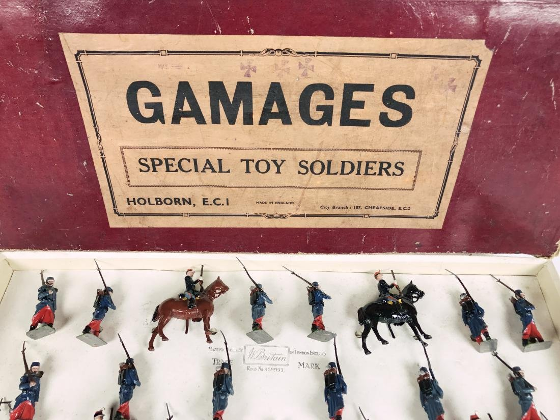 Britains Gamages Set #1826 Special Toy Soldiers - 3