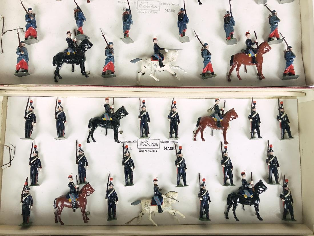 Britains Gamages Set #1826 Special Toy Soldiers - 5