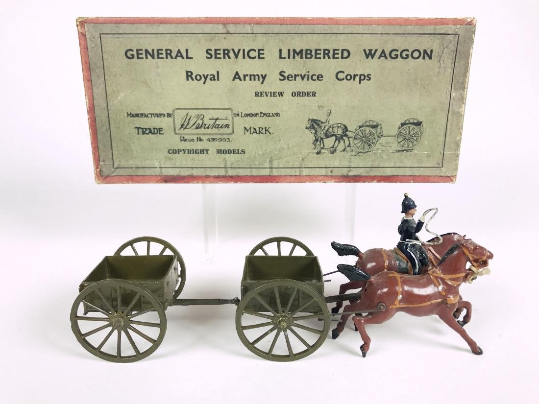 Britains Set #1329 Royal Army Limbered Wagon