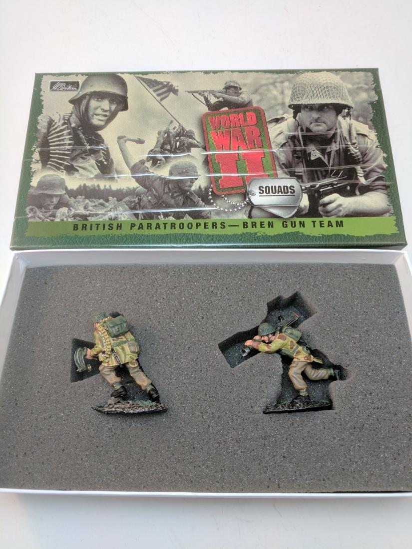 Britains 17143 British Paratroopers Bren Gun