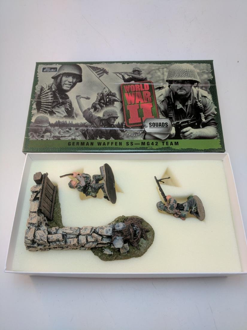 Britains 17147 German Waffen SS MG42 Team