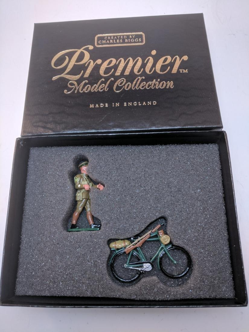 Britains Premier 9801 Cyclist WWI