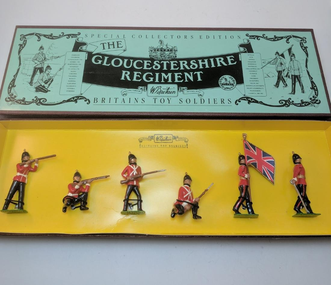 Britains 8809 Gloucestershire Regiment