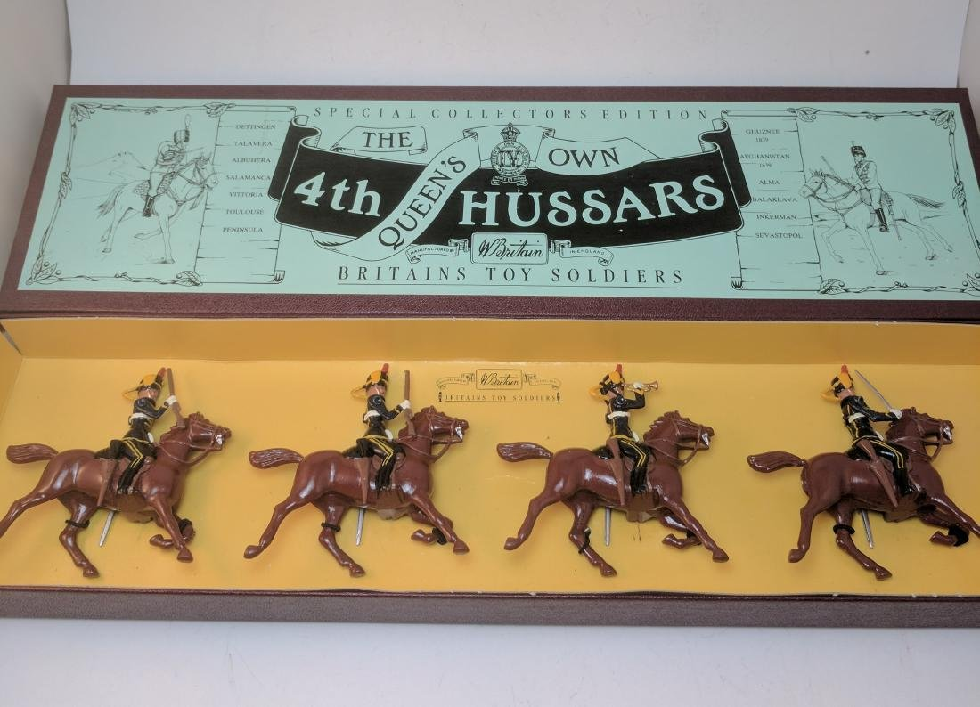 Britains 8811 4th Hussars
