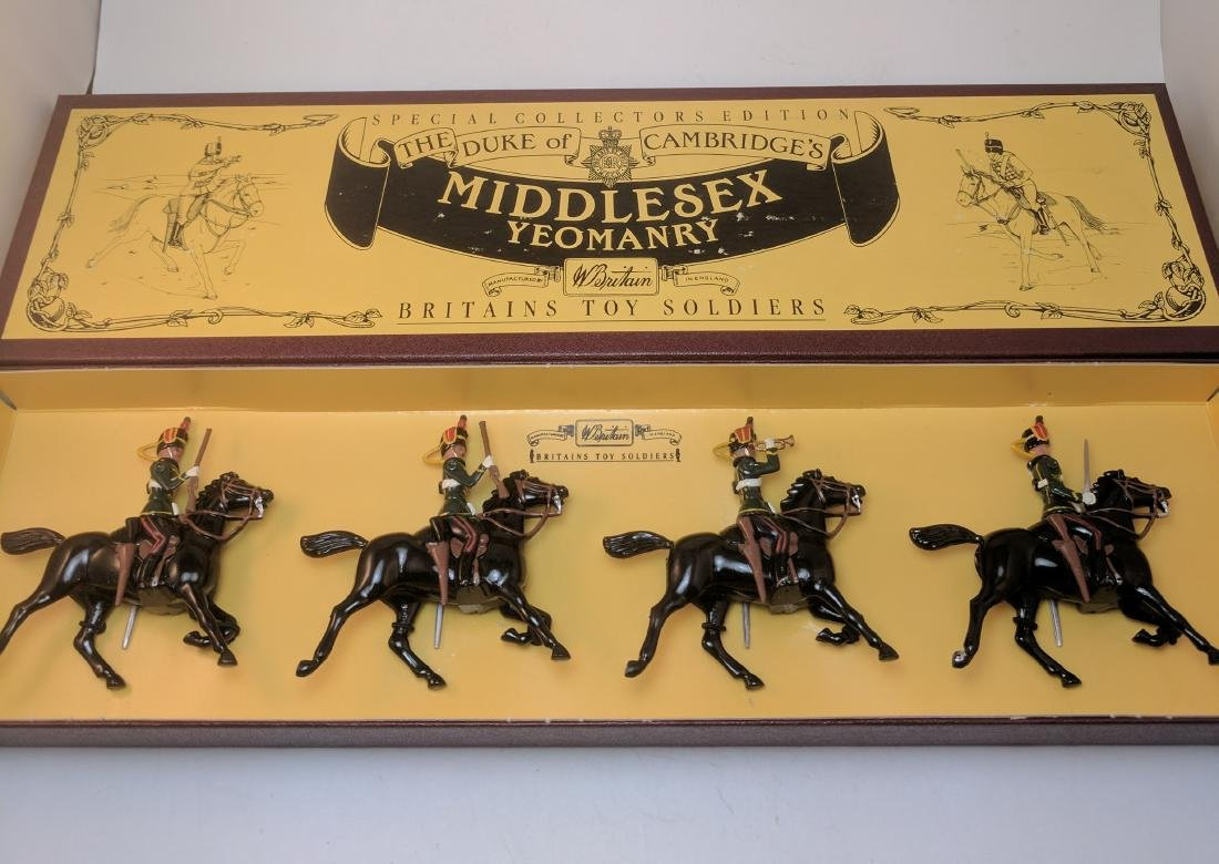 Britains 8812 Middlesex  Yeomanry