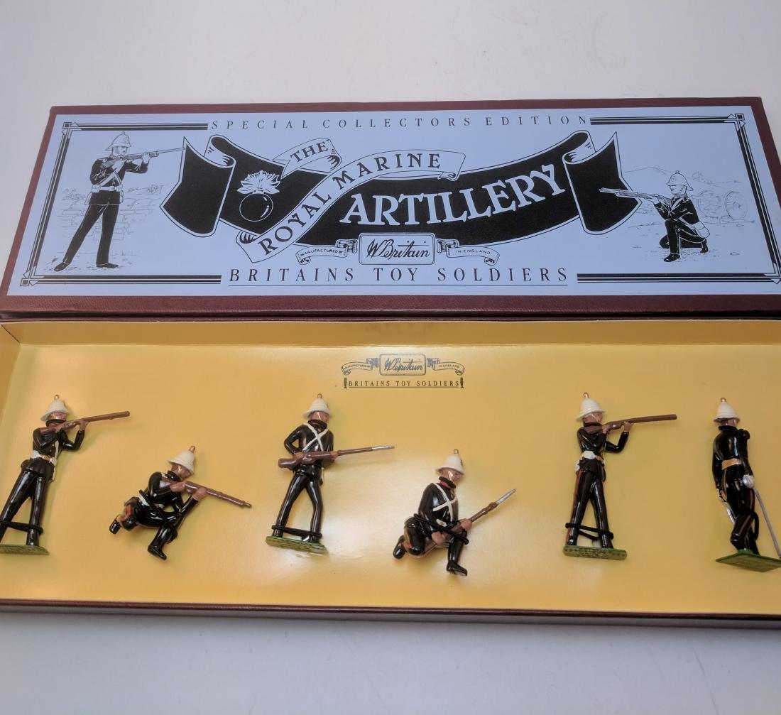 Britains 8826 Royal Marine Artillery