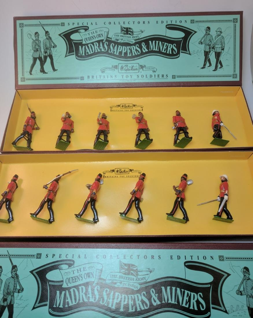Britains 8847 2 Sets Madras Sappers & Miners