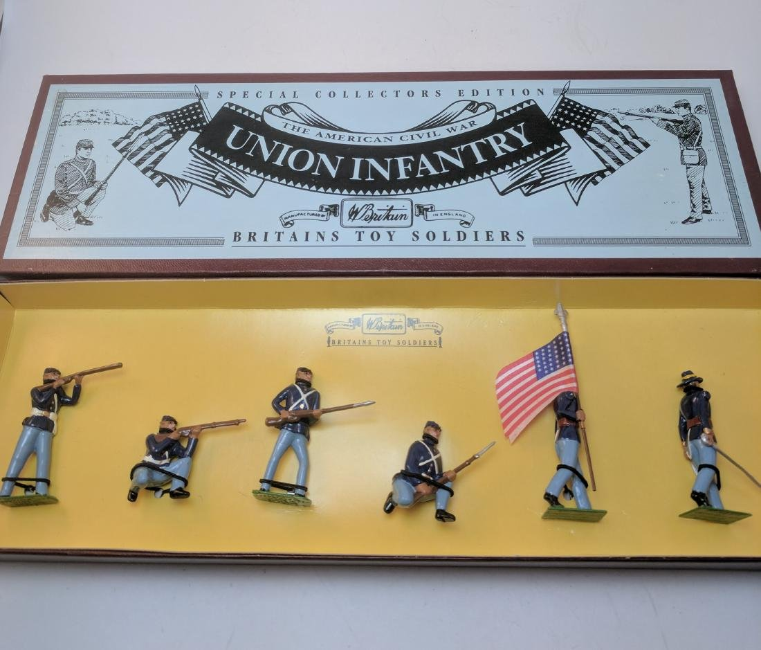 Britains 8852 Union Infantry