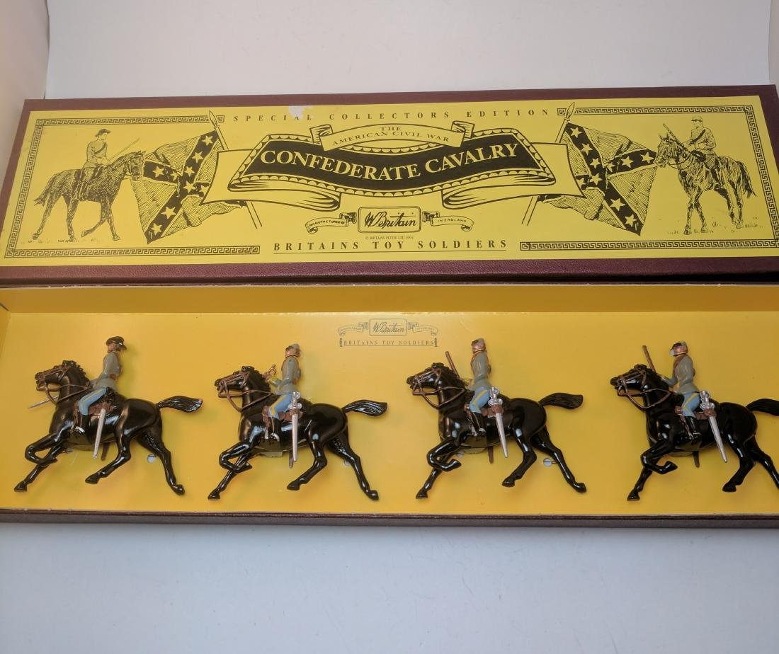 Britains 8853 Confederate Cavalry