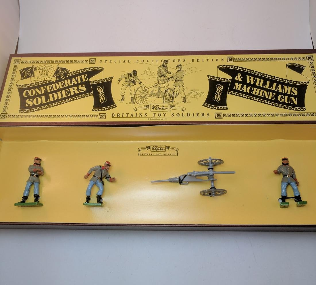 Britains 8883 Confederate Soldiers & Williams
