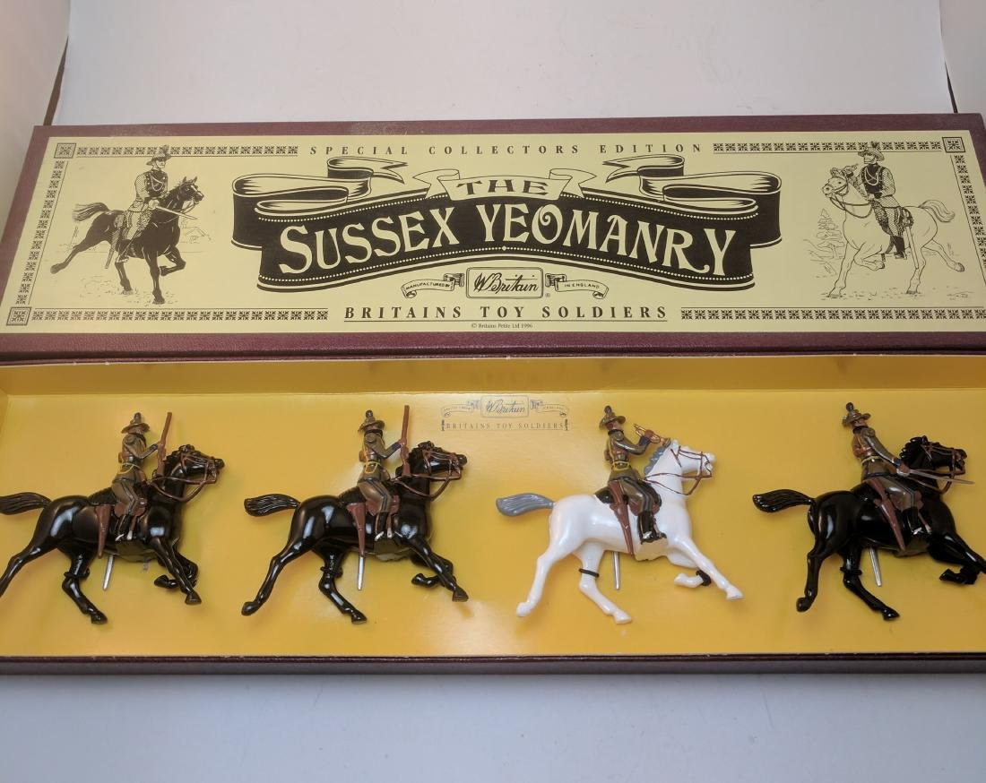 Britains 8893 Sussex Yeomanry