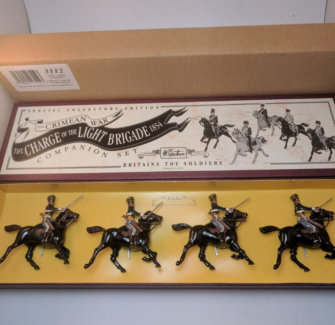 Britains 3112 13th Light Dragoons