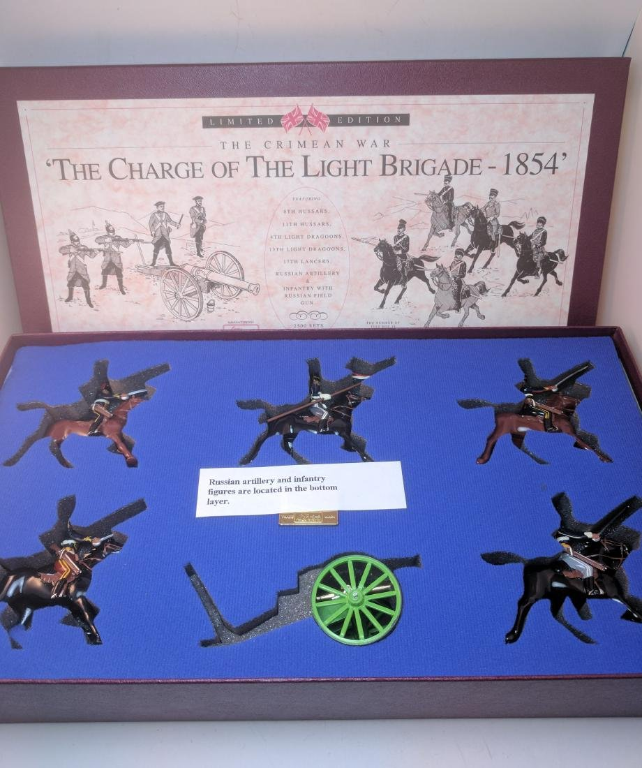 Britains 5197 Charge of the Light Brigade 1854