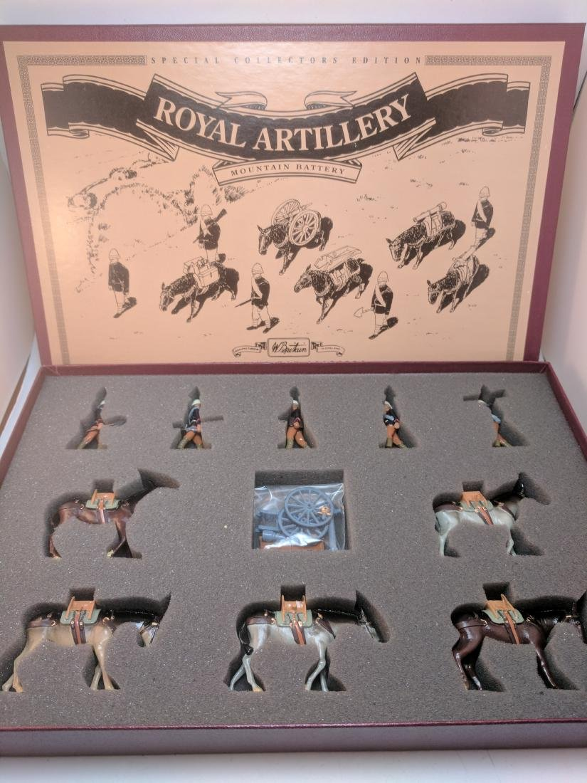 Britains 8857 Royal Artillery