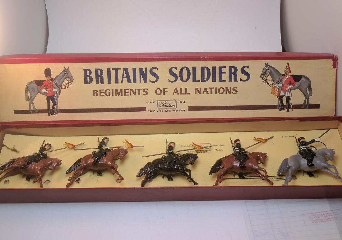 Britains 136 Cossacks Mounted